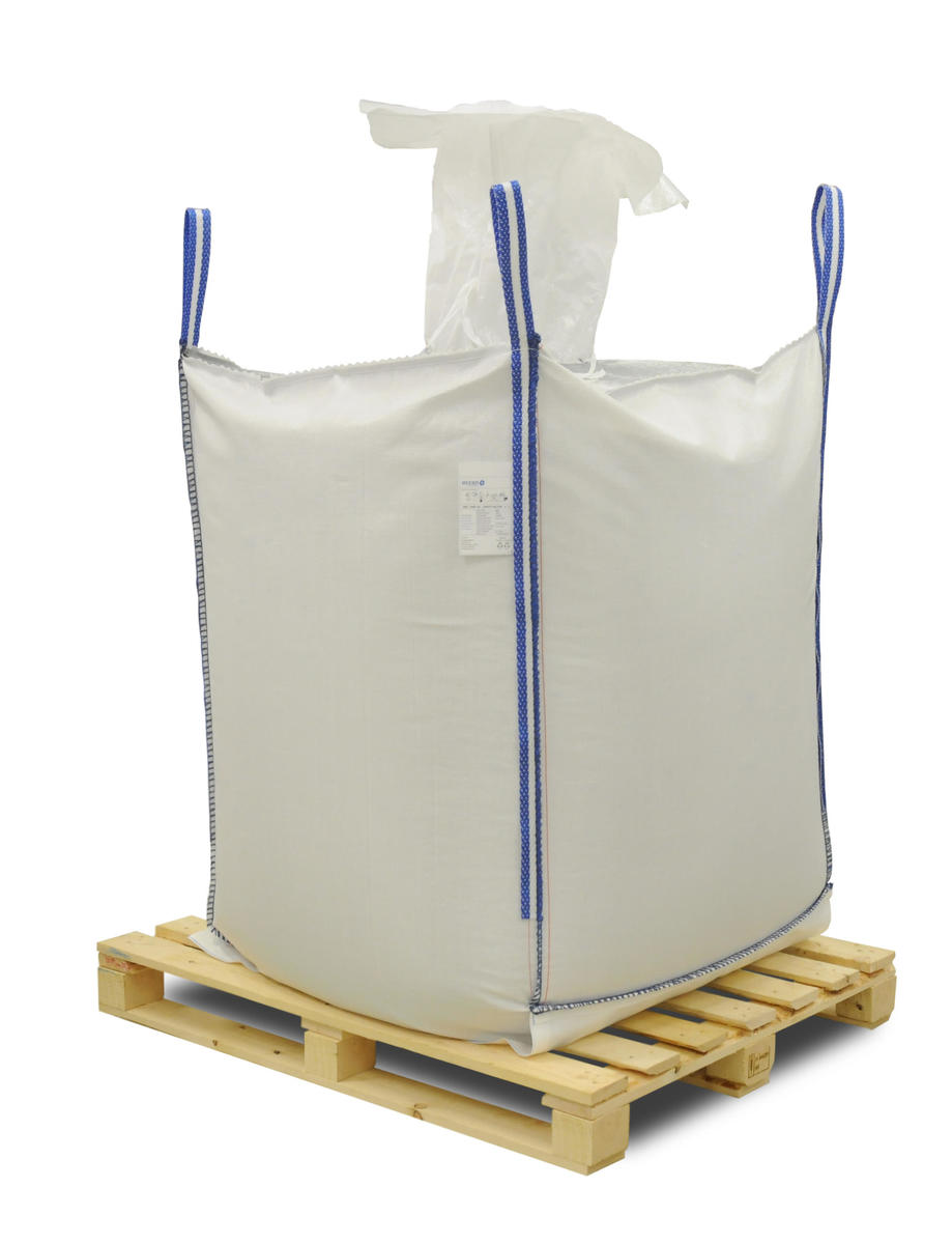 Big Bag con valvula de carga y valvula de descarga con tapa inferior