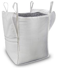 Big Bag con tapa y fondo plano 2S
